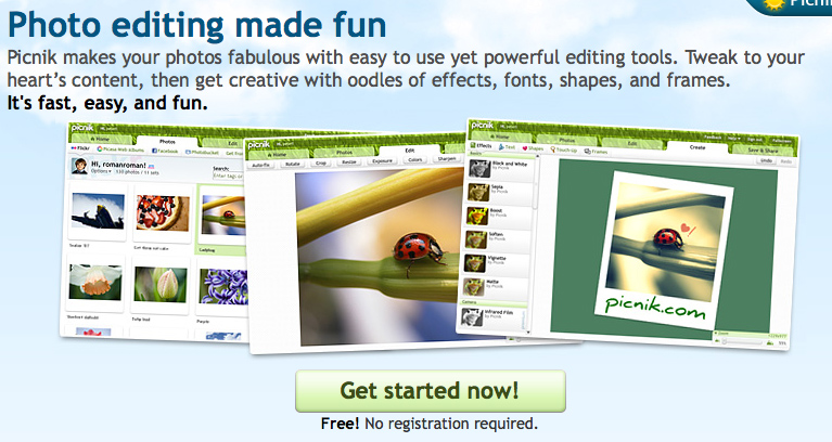 How to Resize Images with Picnik